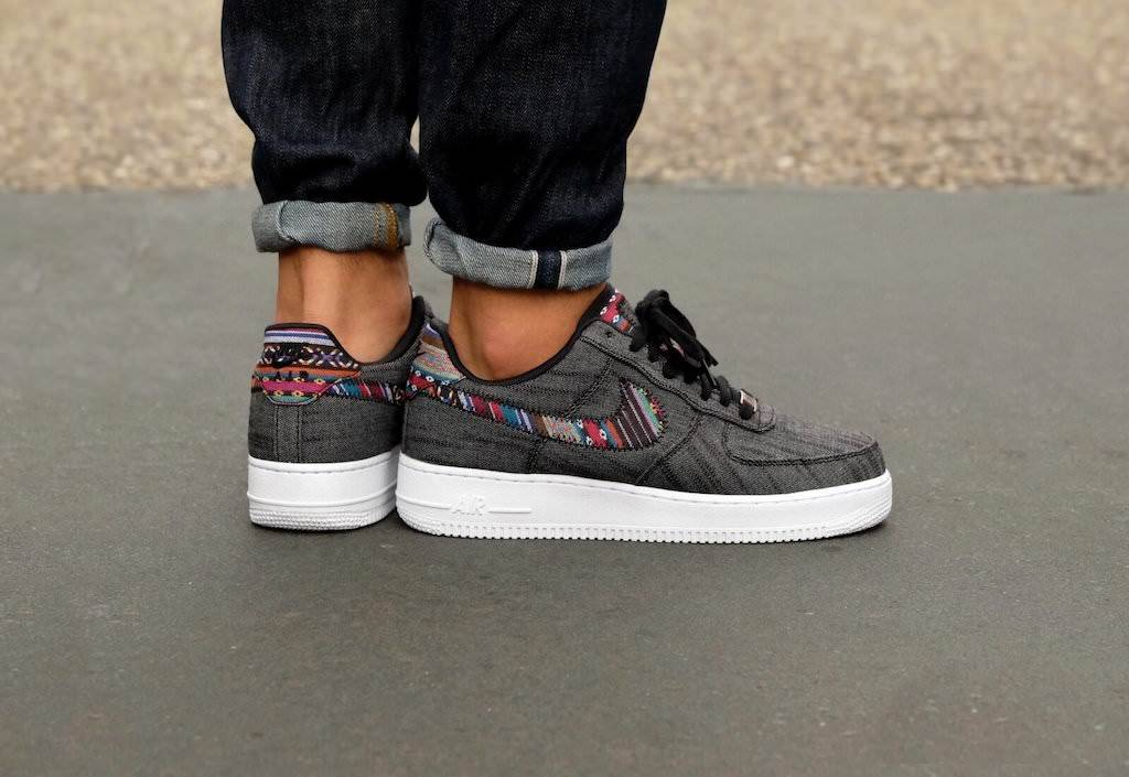 sneakers nike air force one afro punk pack