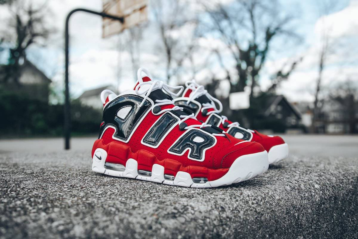 Zapatillas Nike Air More Uptempo Chicago Bulls