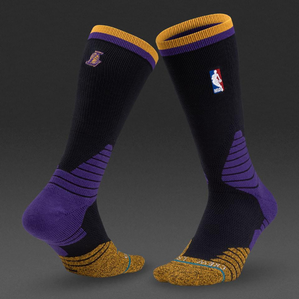 calcetines stance lakers logo crew