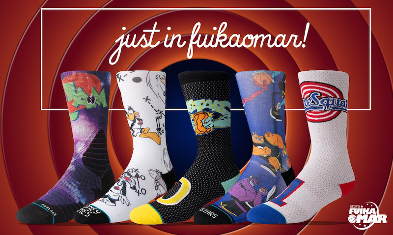 Calcetines baloncesto Space Jam
