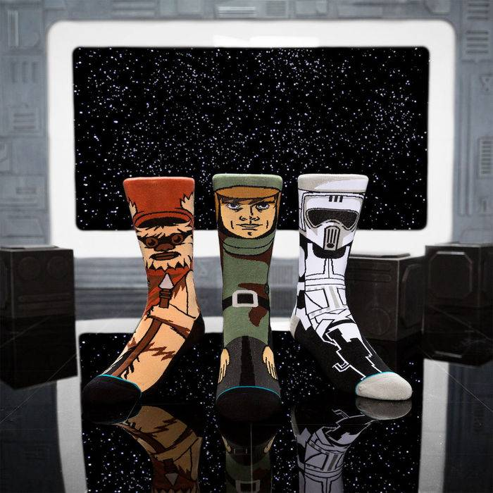 Pack de calcetines stance de star wars