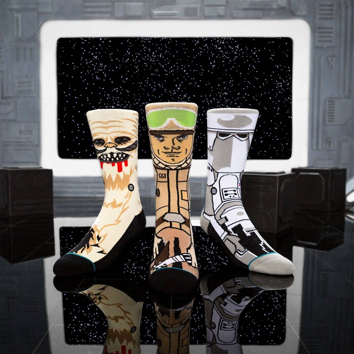 3 pack de calcetines stance star wars