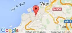 Localización tienda de baloncesto Fuikaomar - Vigo