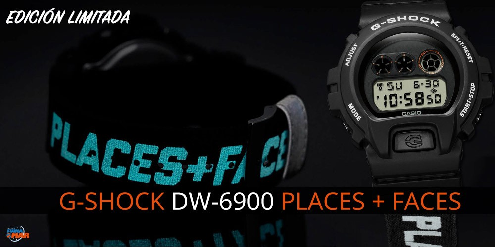 NUEVO G-SHOCK DW-6900 PLACES + FACES