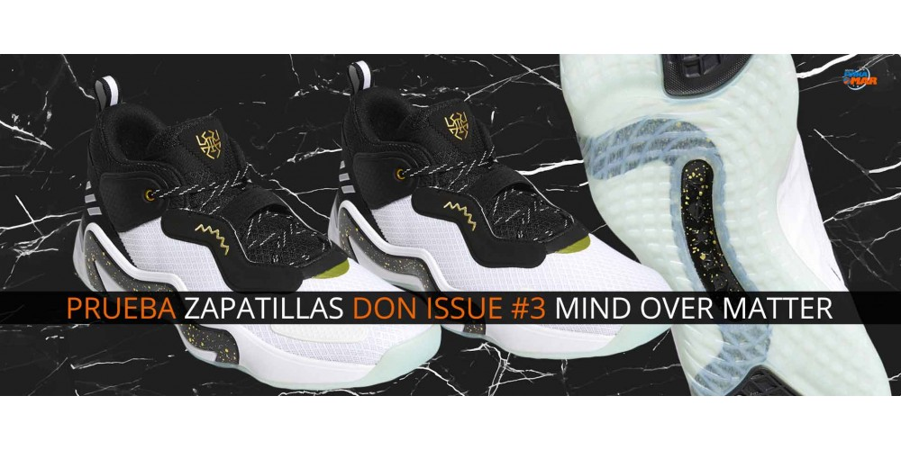 """Review ADIDAS DON ISSUE 3 """"MIND OVER MATTER"""""""