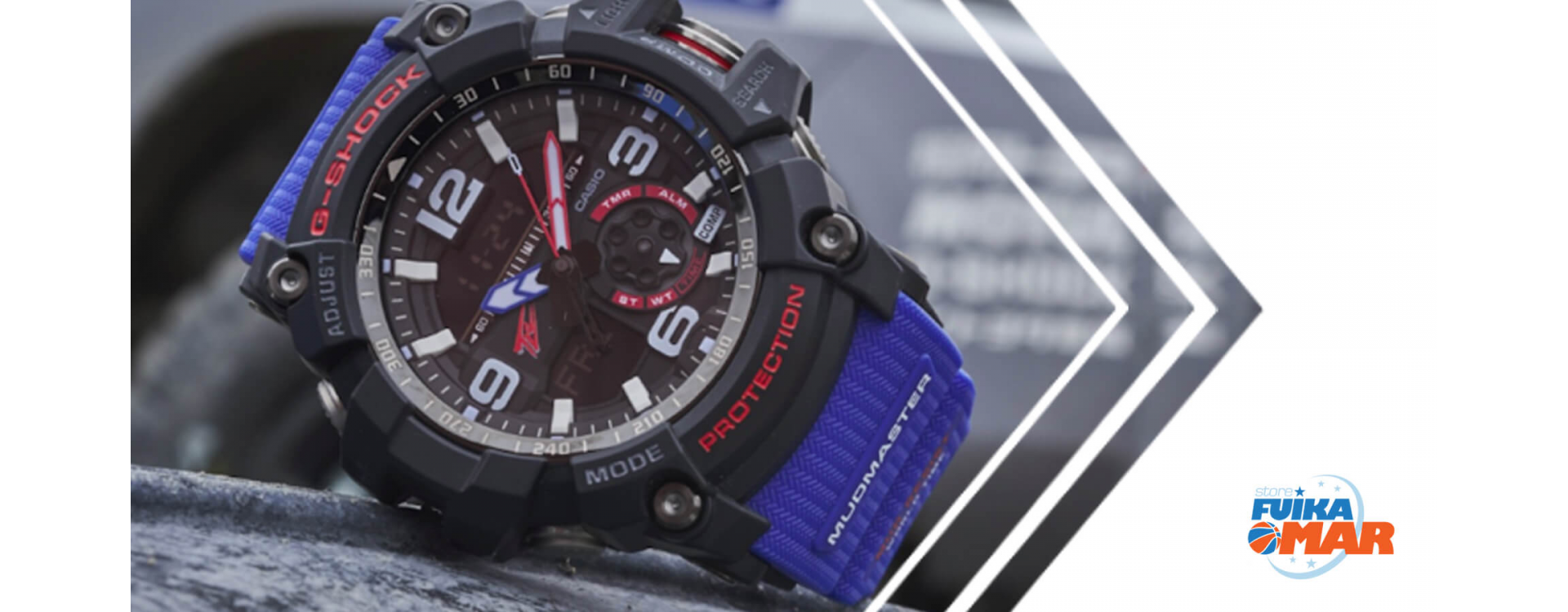 Casio G-Shock Mudmaster Team Land Cruiser