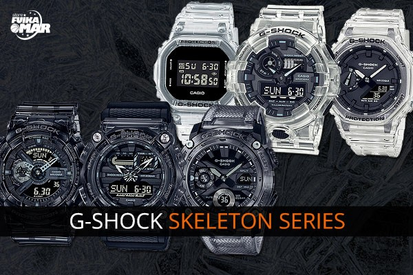 Nuevos G-Shock Skeleton Series 2021