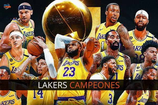 LAKERS CELTICS CAMPEONATOS NBA - 17 ANILLOS